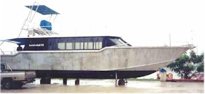 18m (60ft) Aluminium dive/passenger transfer high speed vessel