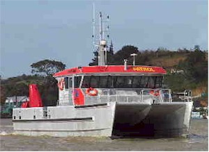 16m (53ft) Aluminium catamaran patrol/workboat